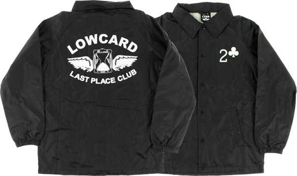 Lowcard Last Place Club Coaches Jacket S-Black