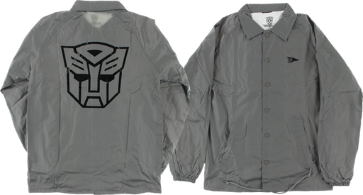 Primitive Autobots Coaches Jacket Xl-Grey