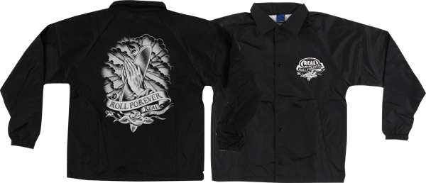 Real Almighty Coaches Jacket Xl-Black
