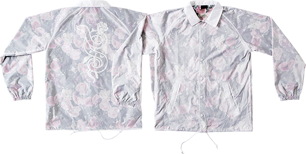 Real Bloom Windbreaker Xl-Transparent Wht/Floral