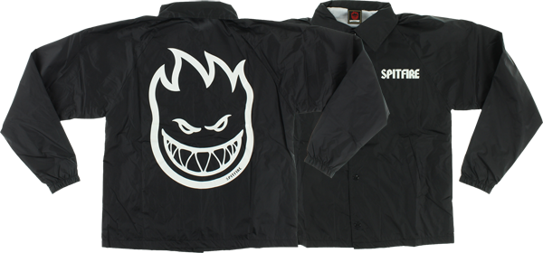 Sf Bighead Coaches Jacket Xl-Black