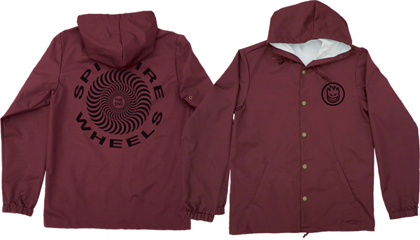 Sf Retro Classic Hooded Jacket L-Red