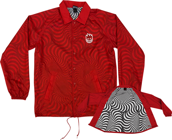 Sf Stock Bighead Swirl Jacket Xl-Red
