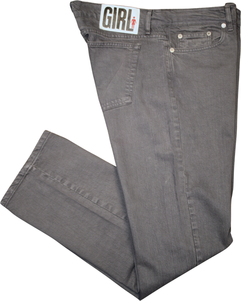 Girl Jean 26-Grey Rinse Fitted Sale