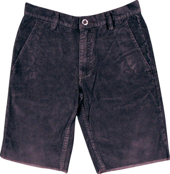Fourstar Orly Cord Shorts 26 Coffee Sale