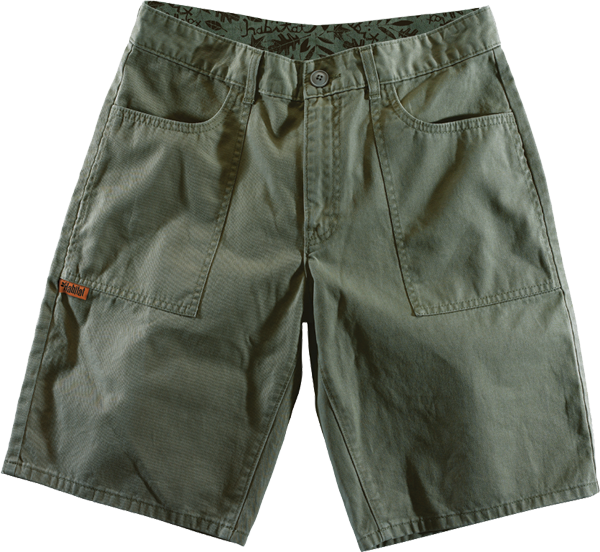 Hab Surplus Cargo Shorts 26 Olive Green Sale