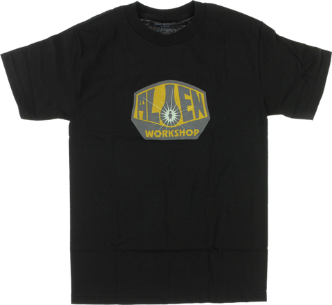 Aw Og Logo Ss S-Black W/Gold/Grey