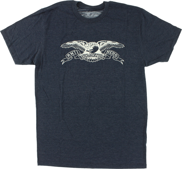 Ah Basic Eagle Ss S-Navy Heather/Wht