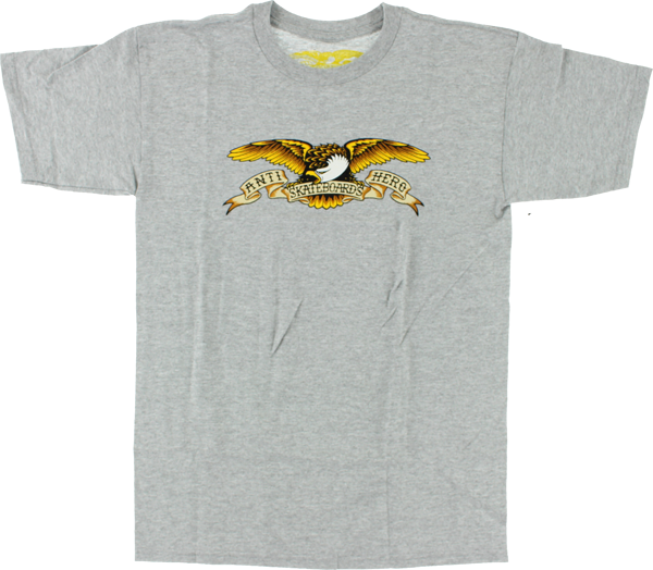 Ah Eagle Ss L-Athletic Heather Grey