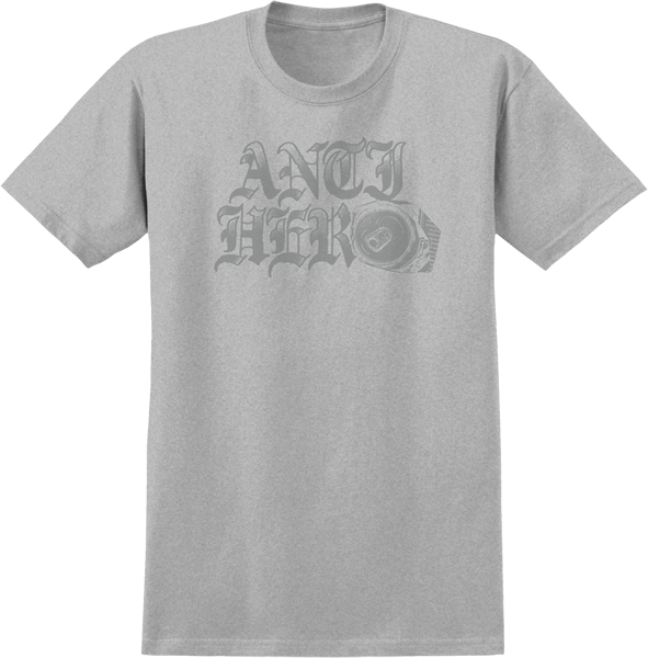 Ah Old Can Hero Ss S-Heather Grey