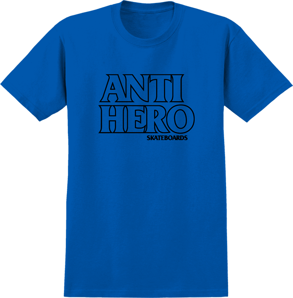 Ah Outline Hero Ss L-Royal/Blk