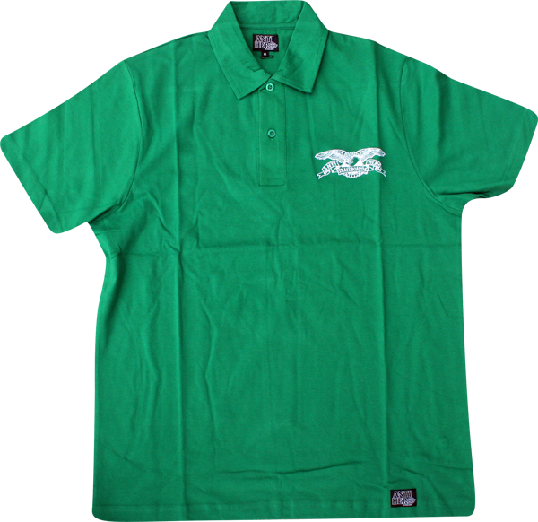 Ah Dickies Eagle Polo Ss S-Kelly Green