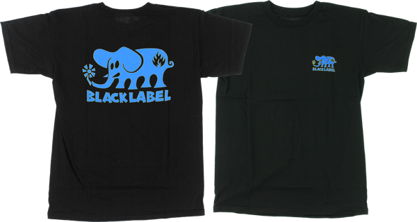 Bll Classic Elephant Ss S-Blk/Blue