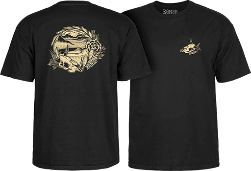 Bones Wheels Desert Bowl Ss Tee Xl- Black