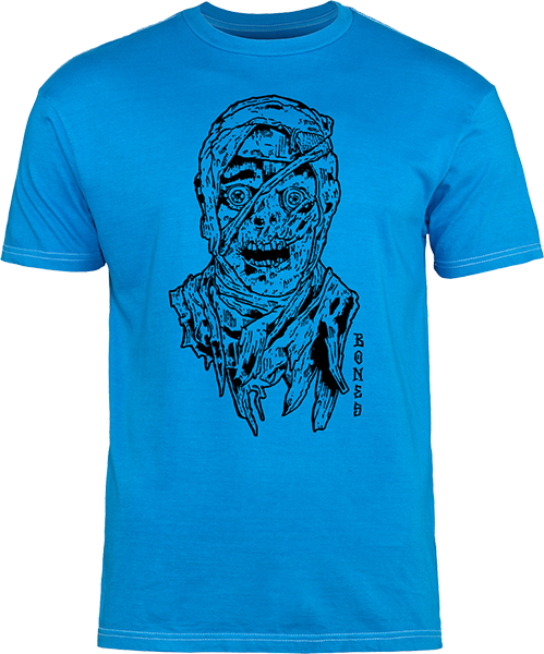 Bones Time Beasts Mummy Ss Xl-Blue/Black