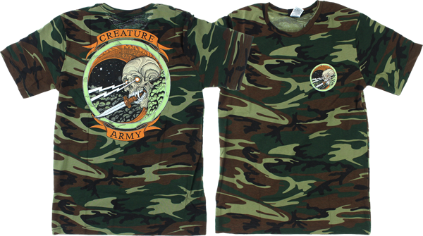 Creature Army Ss M-Camo Green
