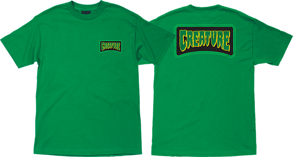 Creature Aware Ss L-Kelly Green