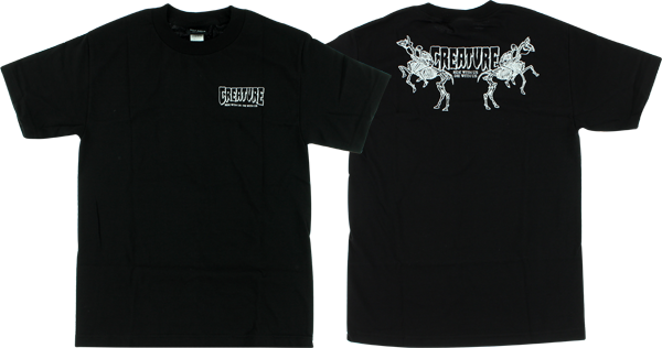 Creature Die With Us Ss S-Black
