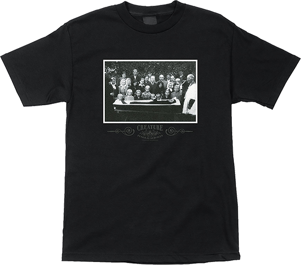 Creature Funeral Service Ss Xl-Black