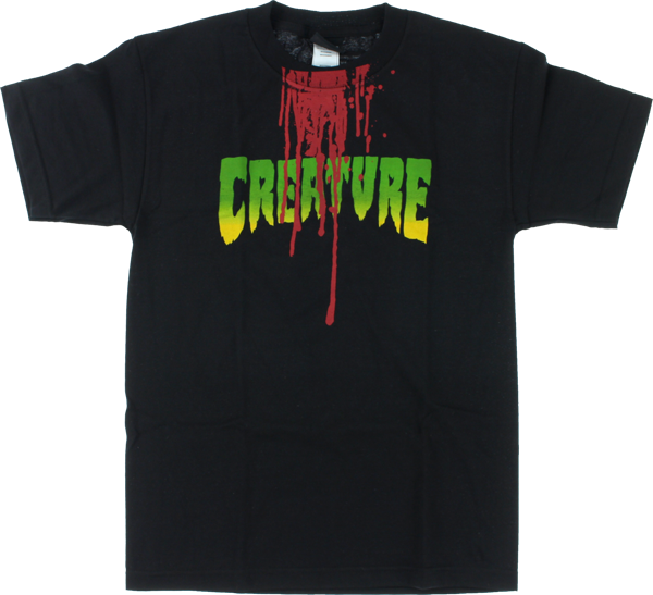 Creature Good Times Ss M-Black