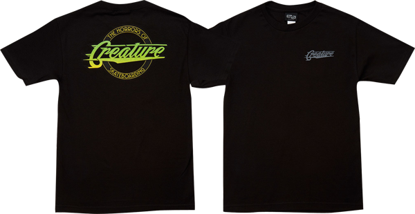 Creature Horror City Ss S-Black