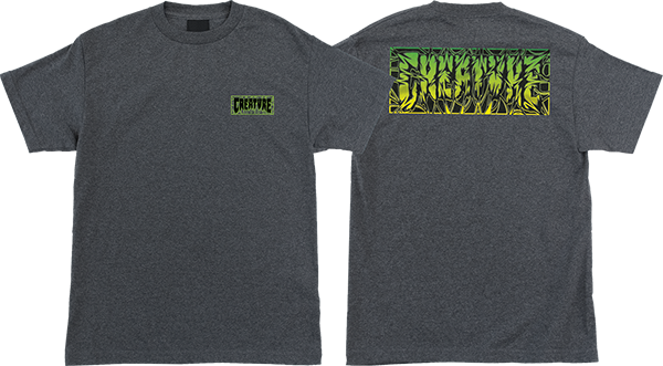 Creature Ligaments Ss S-Charcoal Heather