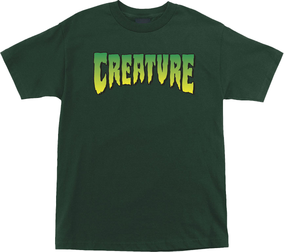 Creature Logo Ss S-Hunter Forest Grn