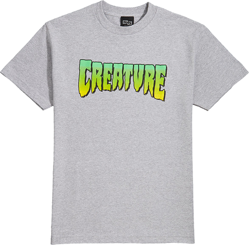 Creature Logo Ss M-Athletic Heather