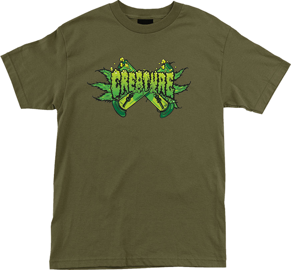 Creature Og Kush Ss Xxl-Military Green