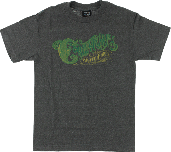Creature Skatehorde Ss M-Charcoal Heather