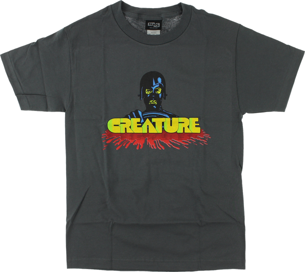 Creature Speed Kills Ss Xl-Charcoal