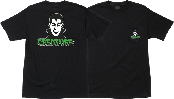 Creature Vamp Pocket Ss Xl-Black