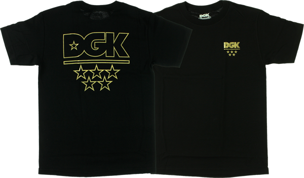 Dgk All Star Ss S-Black