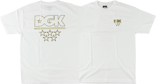 Dgk All Star Ss Xl-White