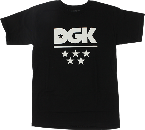 Dgk All Star Ss M-Black/Wht