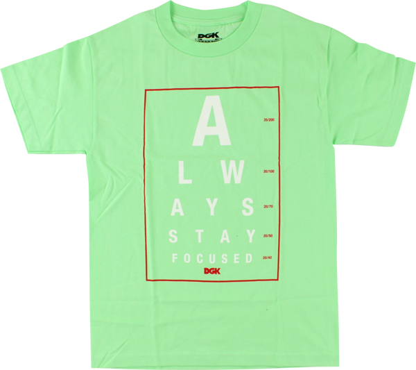 Dgk Eye Chart Ss Xl-Mint