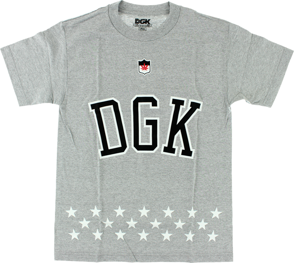Dgk Liberty Ss Xl-Athletic Heather