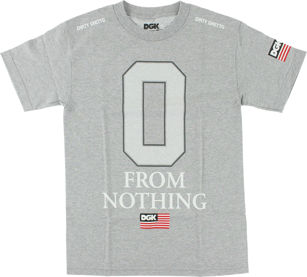 Dgk Nothing Ss S-Athletic Heather