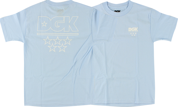 Dgk Pastel Logo Ss Xl-Powder Blue