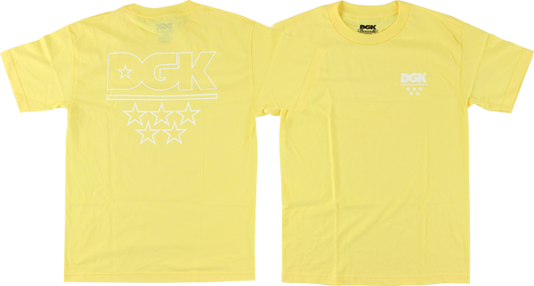 Dgk Pastel Logo Ss Xl-Banana Yellow