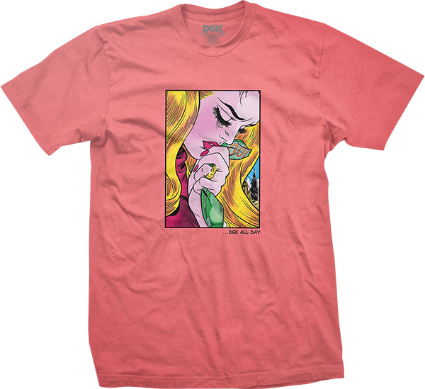 Dgk Weeping Ss Xl-Coral