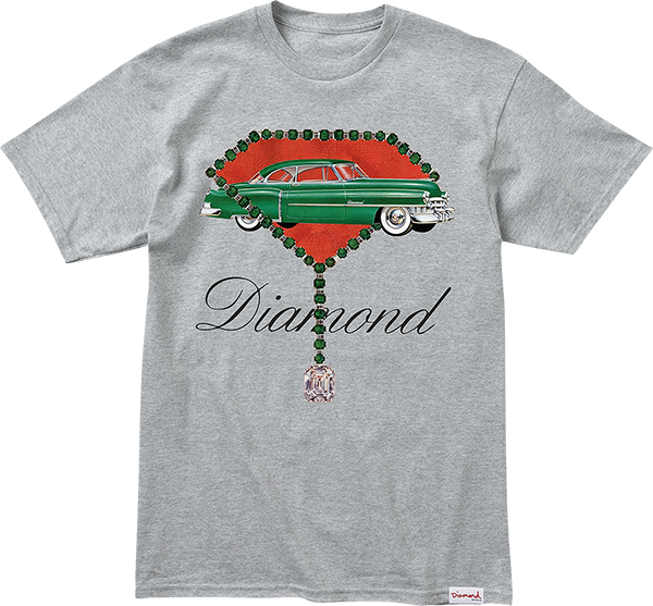 Diamond Caddy Diamond Ss Xl-Heather Grey