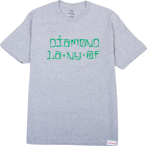 Diamond Cities Ss Xxl-Heather Grey Sale