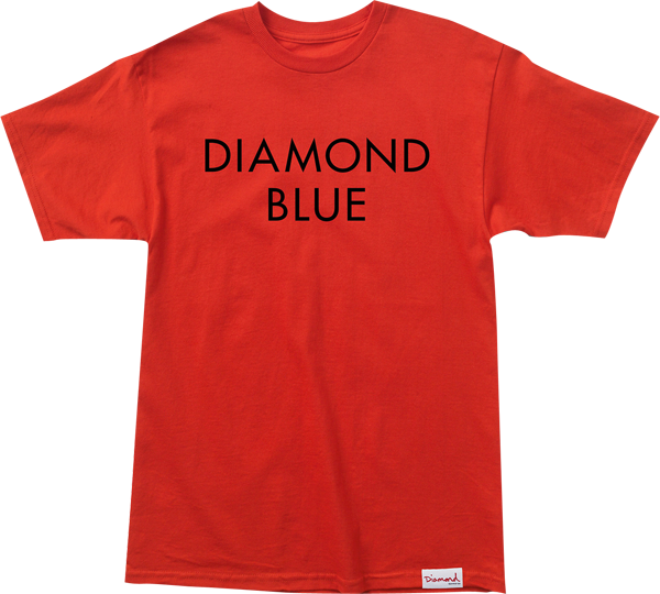 Diamond Blue Ss M-Red/Blk