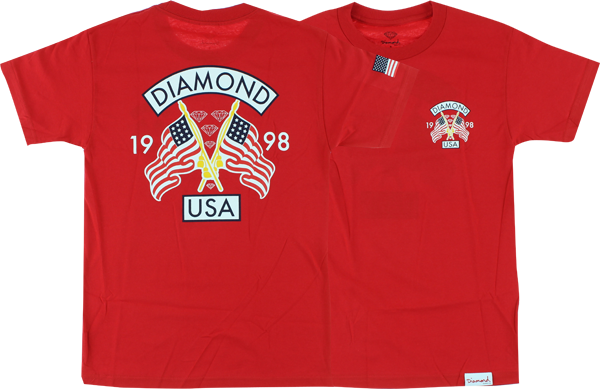 Diamond Diamond Usa Ss Xl-Red