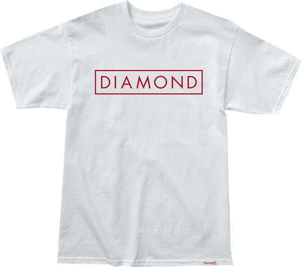 Diamond Future Ss S-Wht/Red