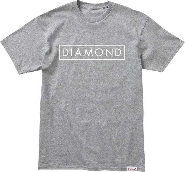 Diamond Future Ss S-Heather/Wht