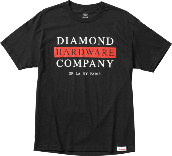 Diamond Hardware Stack Ss S-Black