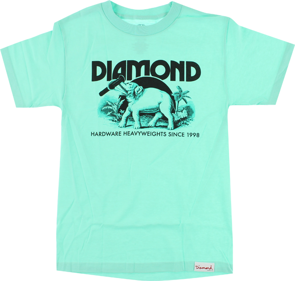 Diamond Ivory Ss Xl-Diamond Blue/Blk