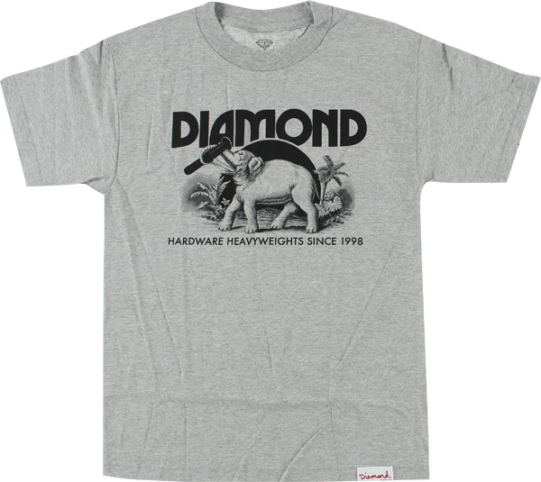 Diamond Ivory Ss Xl-Heather/Blk